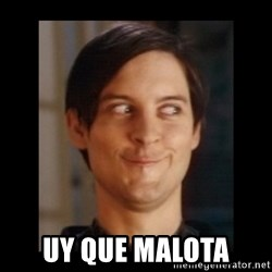 Toby Maguire trollface -  uy que malota