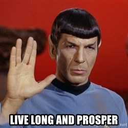 spockie 2 -  live long and prosper