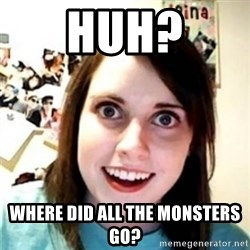 OAG - huh? where did all the monsters go?
