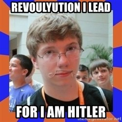 LOL HALALABOOS - Revoulyution i lead For i am hitler
