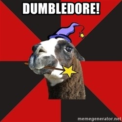 Epic Level Llama - dumbledore!