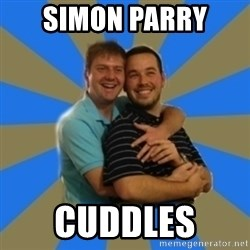 Stanimal - SIMON PARRY  cuddles