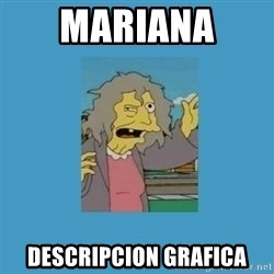 crazy cat lady simpsons - Mariana  Descripcion Grafica