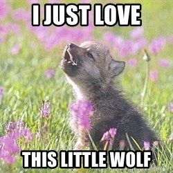 Baby Insanity Wolf - I just love this little wolf