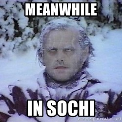 Winter is coming troll - Meanwhile in sochi