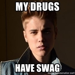 Justin Bieber Jealous - my drugs  have swag