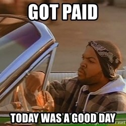 No John Cena on Raw... Today was a good day - got paid today was a good day