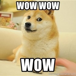 so doge - Wow wow wow