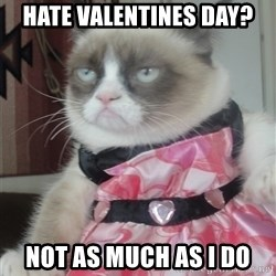 Valentines Day Tard - Hate valentines Day? not as much as i do