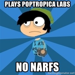Poptropican - Plays Poptropica labs no narfs