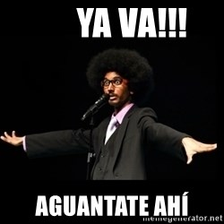 AFRO Knows -       ya va!!! aguantate ahí