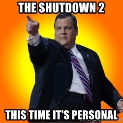 Chris Christie Blame Bouncer - The Shutdown 2 This time it's Personal