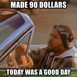 No John Cena on Raw... Today was a good day - made 90 dollars today was a good day