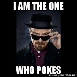 Walter White Hat - i aM THE ONE WHO POKES