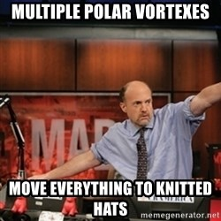 Jim Kramer Mad Money Karma - Multiple Polar Vortexes Move Everything To Knitted Hats