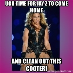 Ugly Beyonce - ugh time for Jay Z to come home and clean out this cooter!
