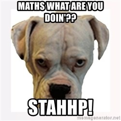 stahp guise - maths what are you doin'?? STAHHP!