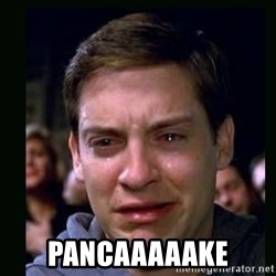 crying peter parker -  pancaaaaake