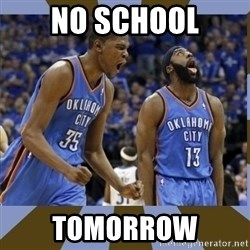 Durant & James Harden - No School Tomorrow