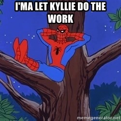 Spiderman Tree - i'ma let kyllie do the work