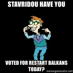 Drew Pickles: The Gayest Man In The World - stavridou have you voted for restart balkans today?