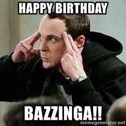 sheldon12345 - happy birthday bazzinga!!