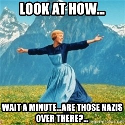 Sound Of Music Lady - Look at how... Wait a minute...are those Nazis over there?...