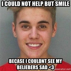 Jail Justin Bieber - I could not help but smile becase i couldnt see my beliebers sad <3