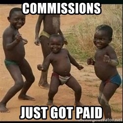 Dancing black kid - commissions just got paid