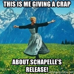 Look at all the things - This is me giving a crap About Schapelle's release!