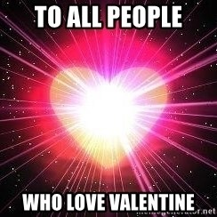 ACOUSTIC VALENTINES II - To all people who love valentine