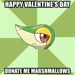 Smugleaf - Happy Valentine's day Donate me marshmallows