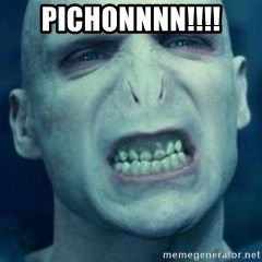 Angry Voldemort - pichonnnn!!!!