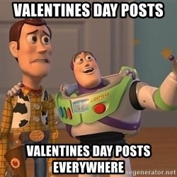 Anonymous, Anonymous Everywhere - Valentines day posts Valentines day posts everywhere