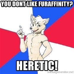 Russian Furfag - you dont like furaffinity? heretic!