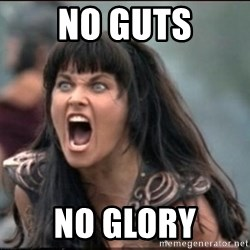 xena mad - no guts no glory