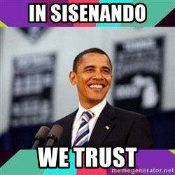 Barack Obama - IN SISENANDO WE TRUST