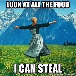 Look at all the things - Look at all the food i can steal