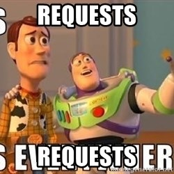 Xx Everywhere - Requests requests