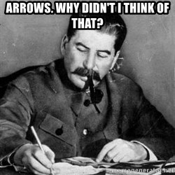 Dear Diary - Arrows. Why didn't I think of that?