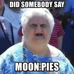 Fat Woman Wat - did somebody say moon pies