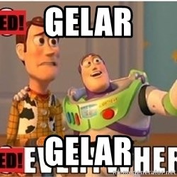 Toy Story Everywhere - Gelar gelar