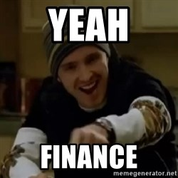 yeah science - Yeah finance