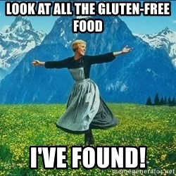 Look at all the things - Look at all the gluten-free food I've found!