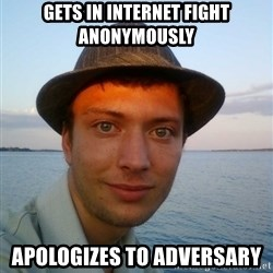 Beta Tom - GETS IN INTERNET FIGHT ANONYMOUSLY APOLOGIZES TO ADVERSARY