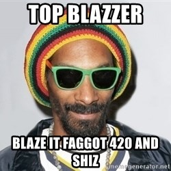Snoop lion2 - top blazzer  blaze it faggot 420 and shiz