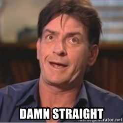 Sheen Derp -  DAMN STRAIGHT