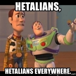 X, X Everywhere  - hetalians, hetalians everywhere.