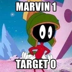 Marvin the Martian - marvin 1 target 0