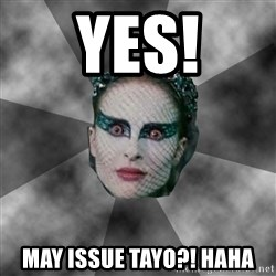 Black Swan Eyes - yes! may issue tayo?! haha